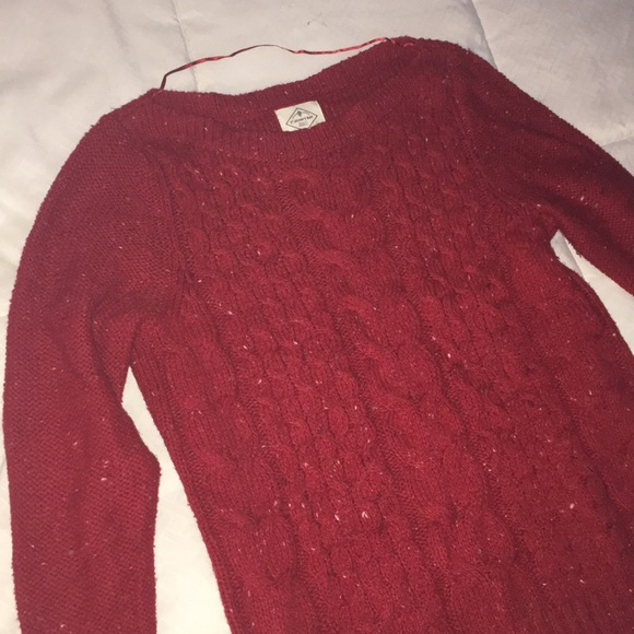 St. John's Bay Sweaters - women's red sweater